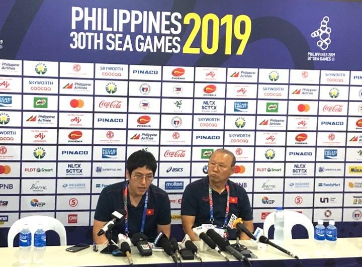 Ông Park: 'Tôi không hiểu sao U-22 Việt Nam lại thua một bàn' - ảnh 3