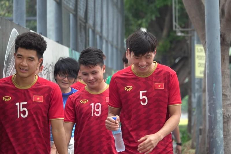 Thầy trò ông Park thư thái trước trận quyết đấu Singapore - ảnh 4