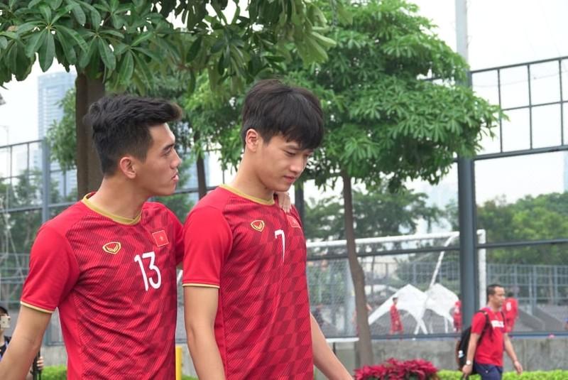 Thầy trò ông Park thư thái trước trận quyết đấu Singapore - ảnh 3