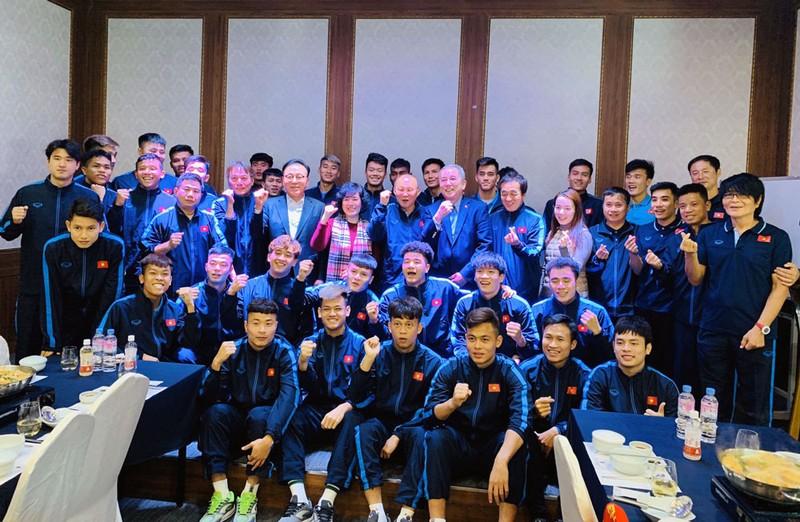 Ông Park ở lại Hàn Quốc đón Noel, tuyểnU-23 Việt Nam về TP.HCM - ảnh 3