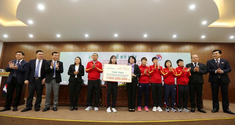 100 tỉ đồng giúp tuyển nữ Việt Nam đá cúp thế giới - ảnh 2
