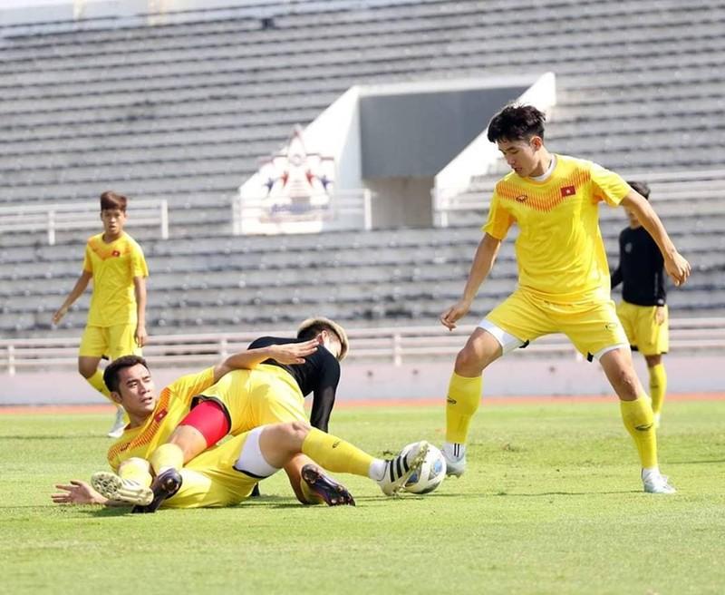 Quang Hải và đồng đội thanh thản trước trận đấu khó Triều Tiên - ảnh 2