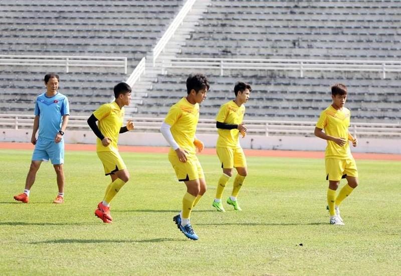 Quang Hải và đồng đội thanh thản trước trận đấu khó Triều Tiên - ảnh 3
