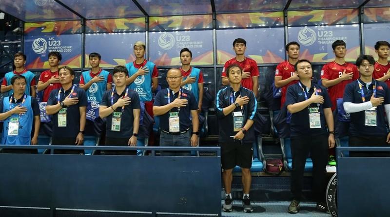 Quang Hải và đồng đội thanh thản trước trận đấu khó Triều Tiên - ảnh 1