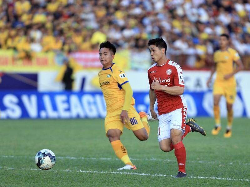 Công Phượng và đồng đội TP.HCM đại thắng SL Nghệ An 3-1 - ảnh 2