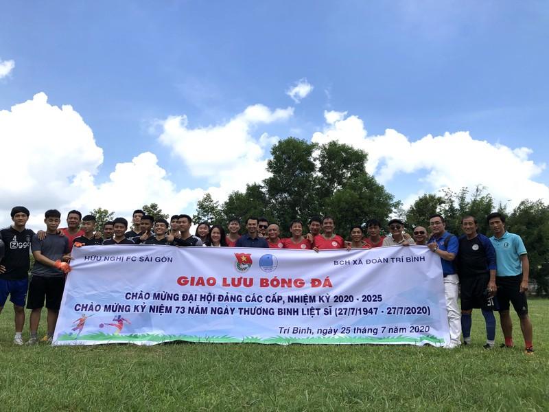 NSND Việt Anh và Hữu Nghị FC vui thiện nguyện ở Tây Ninh - ảnh 20