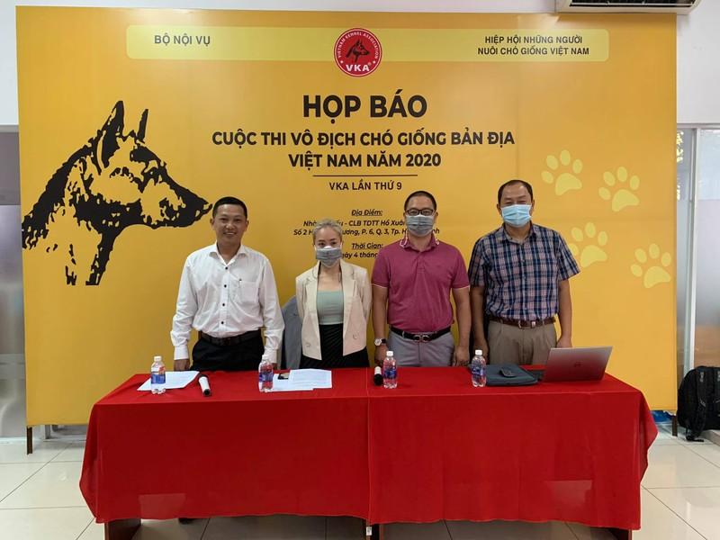 Độc, lạ, kỳ thú cuộc thi vô địch... chó bản địa Việt Nam - ảnh 1