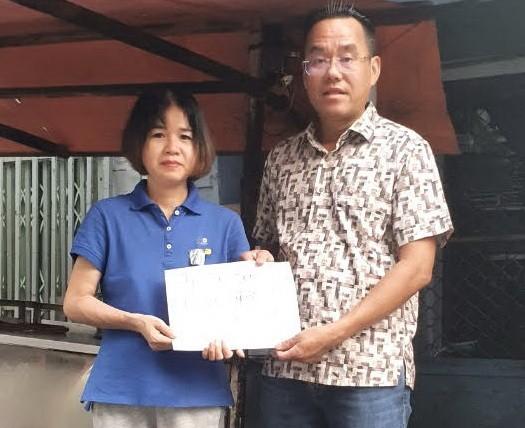 Tấm lòng vàng với sao trẻ HA Gia Lai và bệnh nhân nghèo - ảnh 3