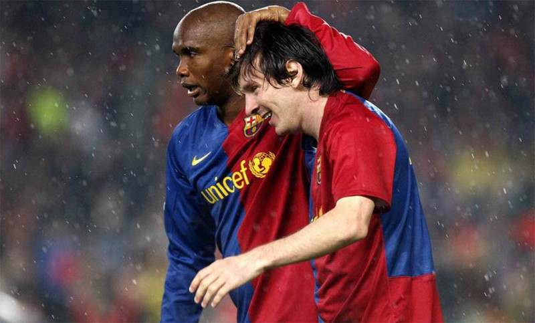 Samuel Eto'o phát ngôn gây sốc về Messi - ảnh 1