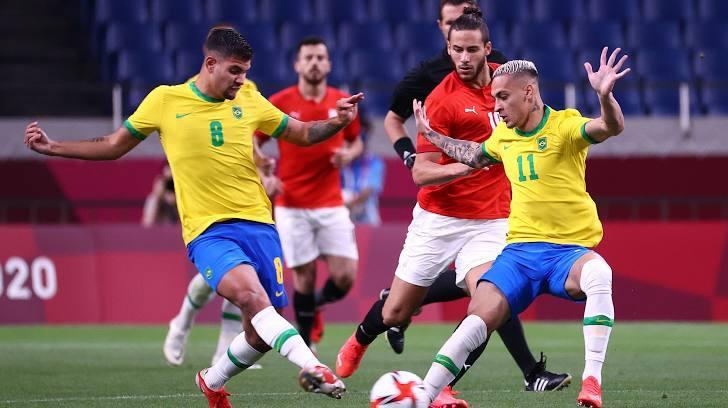 Brazil thắng nhẹ và nước mắt người Hàn - ảnh 1