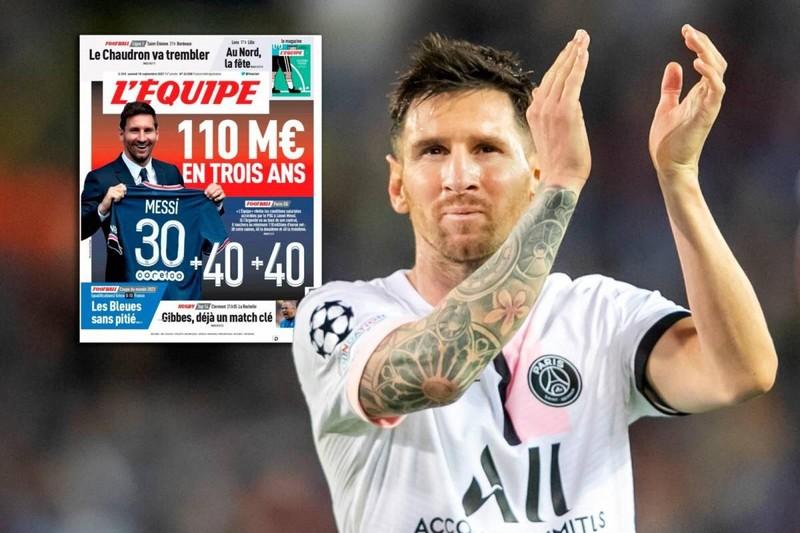 Bật mí thu nhập đặc biệt trong hợp đồng giữa Messi và PSG  - ảnh 3