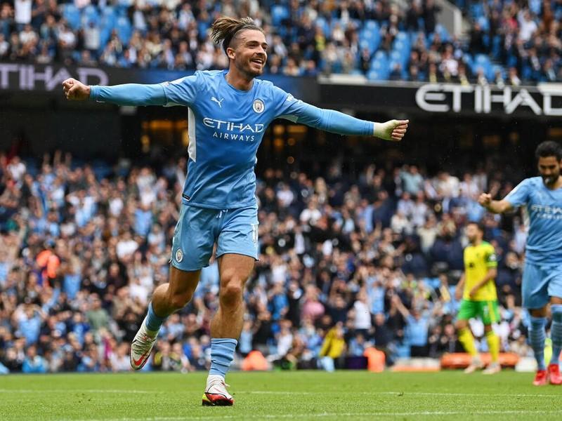 Man City thua thảm, Grealish bắt chước thần tượng David Beckham  - ảnh 5