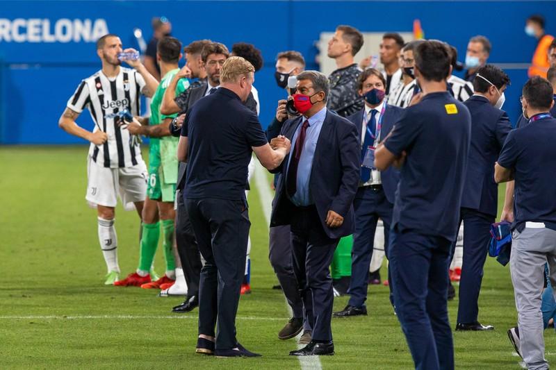 Chủ tịch Barca giữ ghế nóng cho Koeman  - ảnh 2