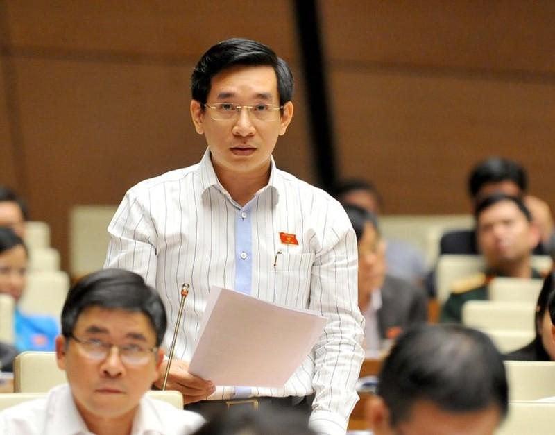 Đại biểu Nguyễn Văn Cảnh đề nghị đấu giá số đẹp để tăng thu ngân sách