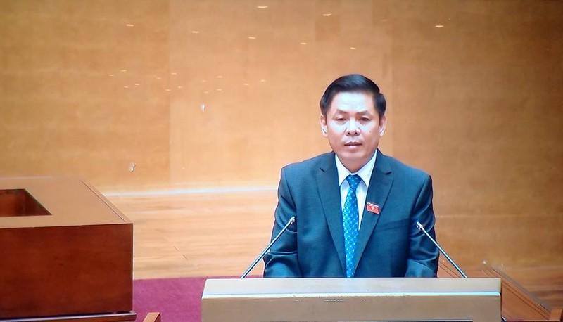 Tân Bộ trưởng Nguyễn Văn Thể lần đầu báo cáo trước QH - ảnh 1