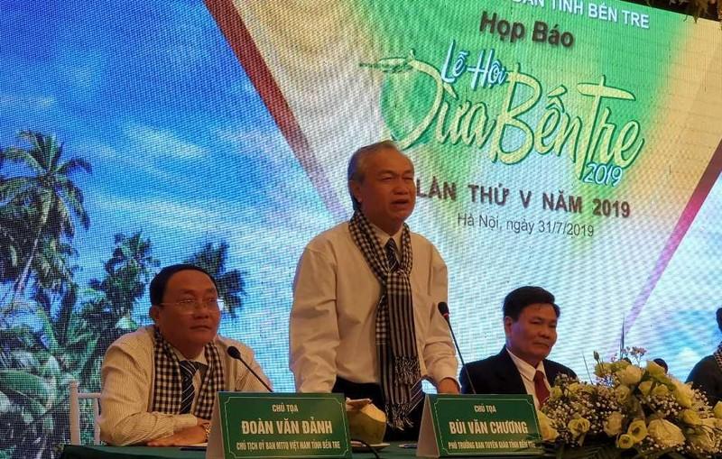 Lễ hội Dừa Bến Tre 2019 không sử dụng ngân sách  - ảnh 2