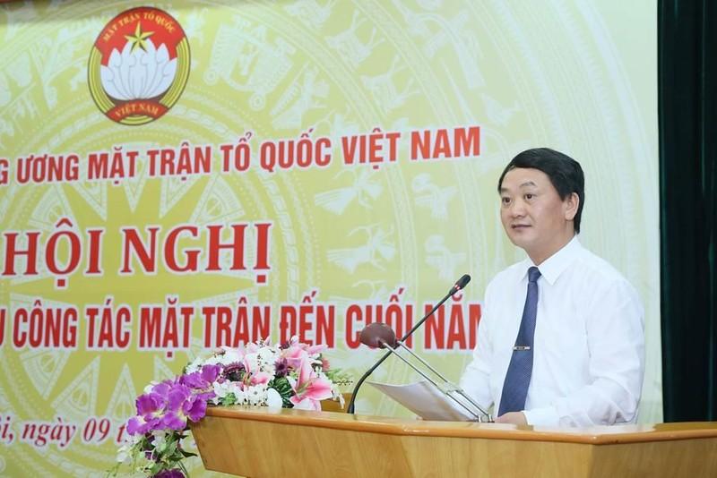 Đại hội toàn quốc MTTQ Việt Nam sẽ là đại hội 'không giấy' - ảnh 1