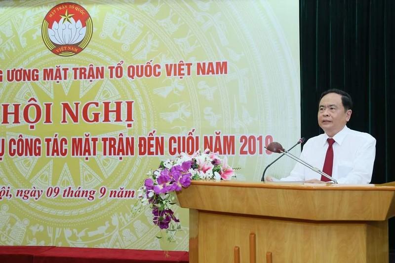 Đại hội toàn quốc MTTQ Việt Nam sẽ là đại hội 'không giấy' - ảnh 2