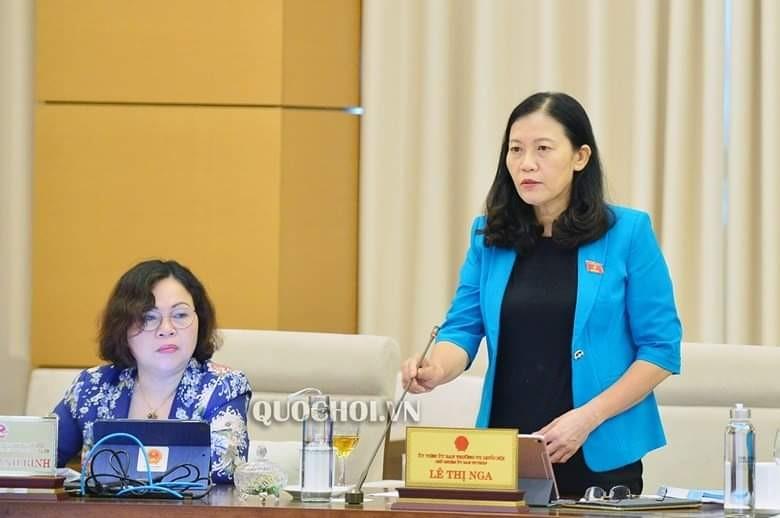 Bà Lê Thị Nga hỏi lý do 'mật' trong báo cáo của công an, VKS - ảnh 1