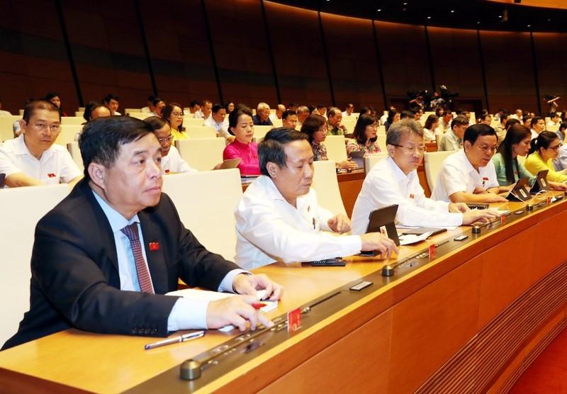 Quốc hội thông qua Nghị quyết phê chuẩn EVFTA và EVIPA - ảnh 1