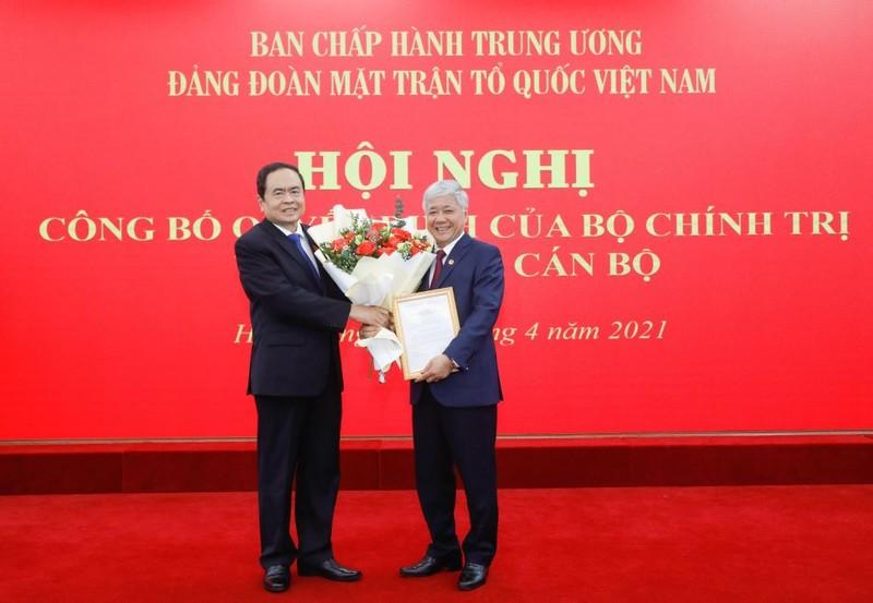 Tân Chủ tịch MTTQ Việt Nam: 'Cán bộ thấu hiểu, gắn bó với dân' - ảnh 1