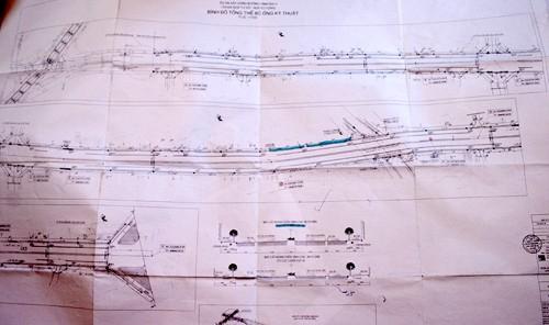 Bản đồ quy hoạch so sánh đường Trường Chinh trước và sau quy hoạch.Ảnh: Bá Đô