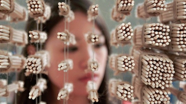 Ngỡ ngàng với chân dung Thành Long được làm từ 64.000 chiếc đũa - ảnh 8