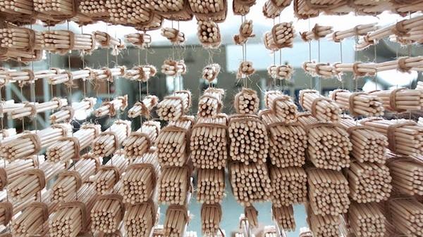 Ngỡ ngàng với chân dung Thành Long được làm từ 64.000 chiếc đũa - ảnh 14