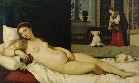 Ảnh: Tác phẩm Vệ nữ Urbino (The Venus of Urbino) của Tiziano - sưu tập của dòng họ Medici, nay được lưu giữ tại Galleria Degli Uffizi (TP Florence, Italy) từ năm 1736.