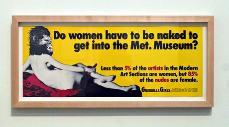 Nữ giới phải khỏa thân thì mới được vào bảo tàng?