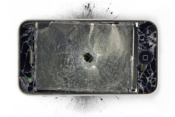 Hy hữu: những chiếc điện thoại đỡ đạn thay chủ nhân - ảnh 5