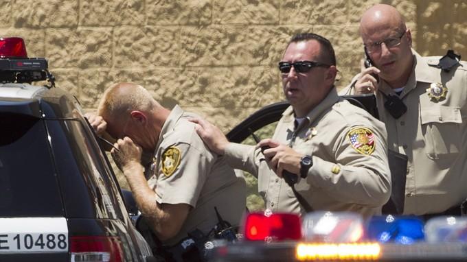 Xả súng tại Las Vegas, 5 người chết - ảnh 1