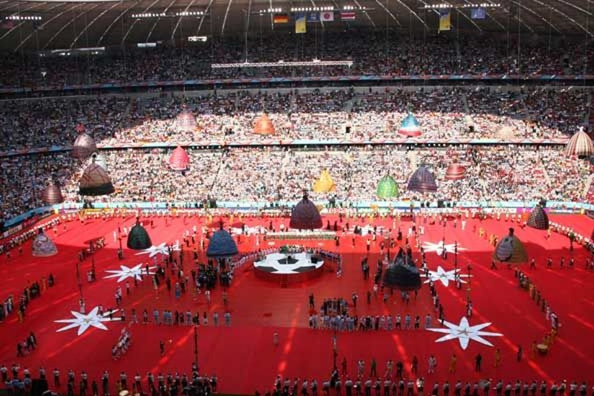 Những hình ảnh ấn tượng tại các lễ khai mạc World Cup - ảnh 19