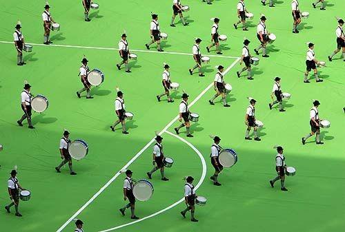 Những hình ảnh ấn tượng tại các lễ khai mạc World Cup - ảnh 18