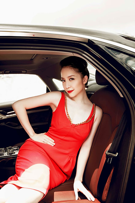 """Linh Nga """"múa"""" trong xe sang nhất của Audi tại Việt Nam - ảnh 13"""