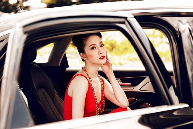 """Linh Nga """"múa"""" trong xe sang nhất của Audi tại Việt Nam - ảnh 5"""