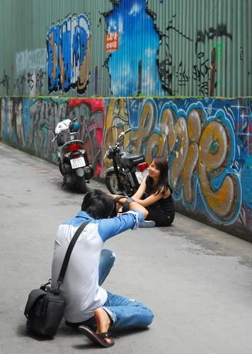 Chùm ảnh: Có một hẻm Graffiti như nước ngoài tại Sài Gòn - ảnh 2