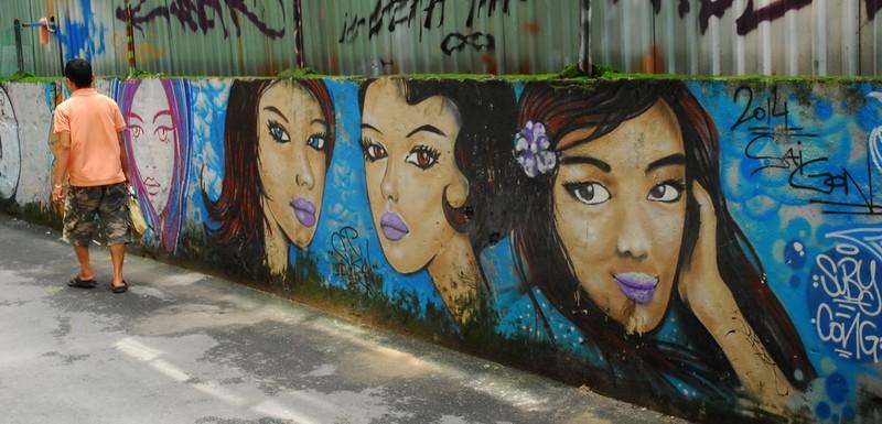 Chùm ảnh: Có một hẻm Graffiti như nước ngoài tại Sài Gòn - ảnh 7