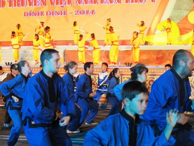 Liên hoan Quốc tế võ cổ truyền Việt Nam: Bừng sáng hào khí Tây Sơn - ảnh 12