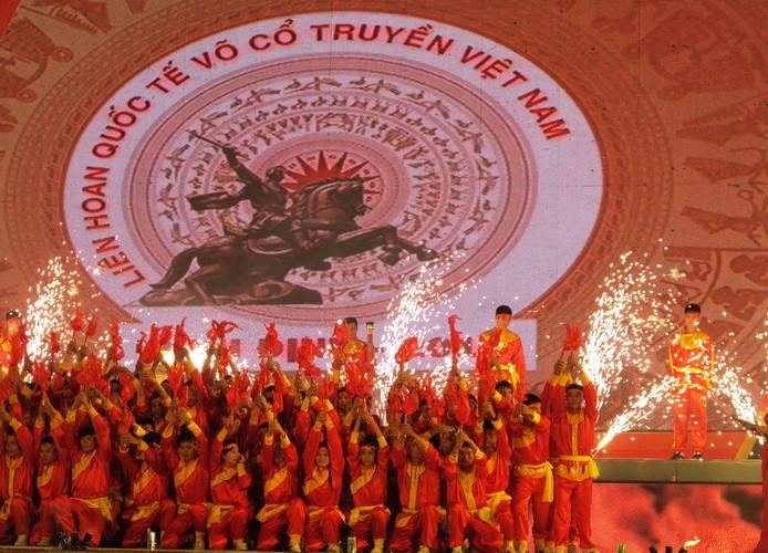 Liên hoan Quốc tế võ cổ truyền Việt Nam: Bừng sáng hào khí Tây Sơn - ảnh 2