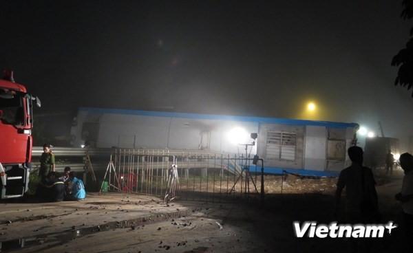 Tai nạn giao thông đường sắt nghiêm trọng ở huyện Vụ Bản - ảnh 2