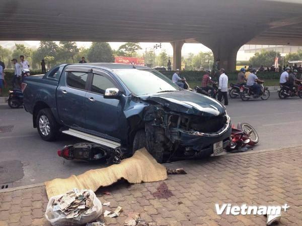 Vụ tai nạn liên hoàn làm 3 người thương vong: Tài xế có dấu hiệu bệnh lý bất thường - ảnh 1