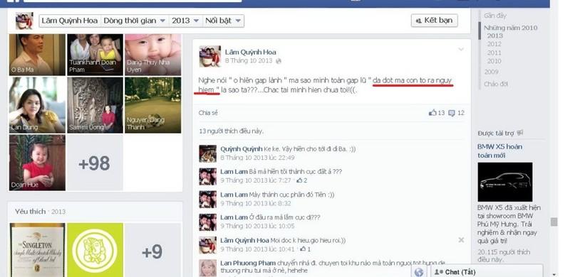 Trưởng Ban quản trị chung cư đăng facebook 'chửi' cư dân - ảnh 1