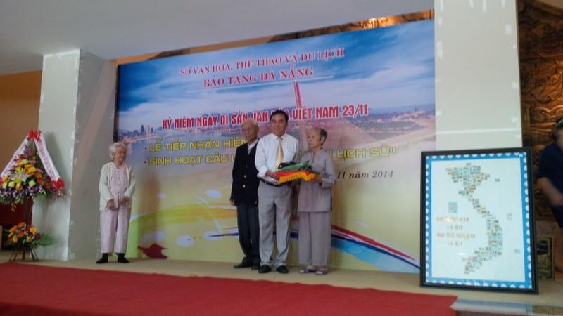 Bảo tàng Đà Nẵng tiếp nhận kỷ vật quý từ quân nhân - ảnh 1