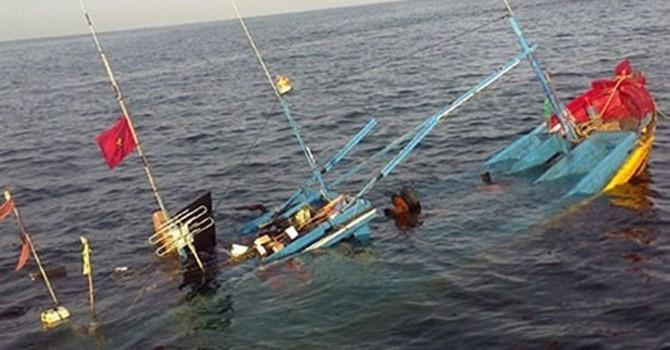 Truy tìm tàu lạ đâm chìm tàu đánh cá ngư dân trên biển - ảnh 1