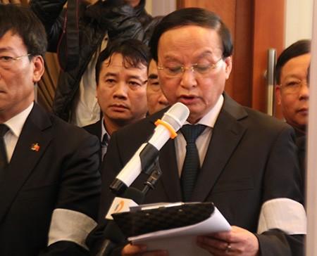 'Đồng chí Nguyễn Bá Thanh rất xứng đáng với tấm Huân chương của lòng dân' - ảnh 1