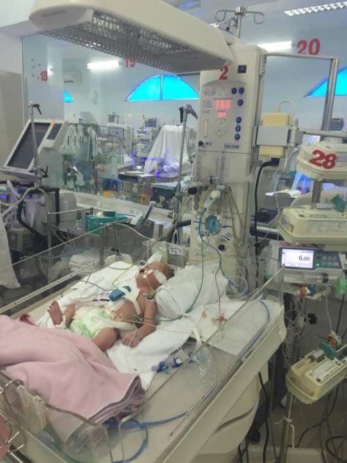 Cứu sống ngoạn mục bé mắc bệnh tim từ trong bụng mẹ - ảnh 2