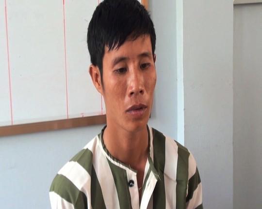 Tài xế Nguyễn Thái Huỳnh tại cơ quan điều tra