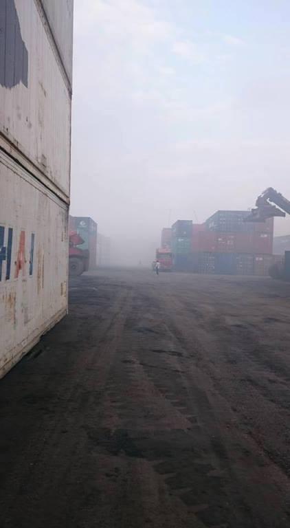 Cháy 20 container chở phốt pho tại cảng ở Hải Phòng - ảnh 2