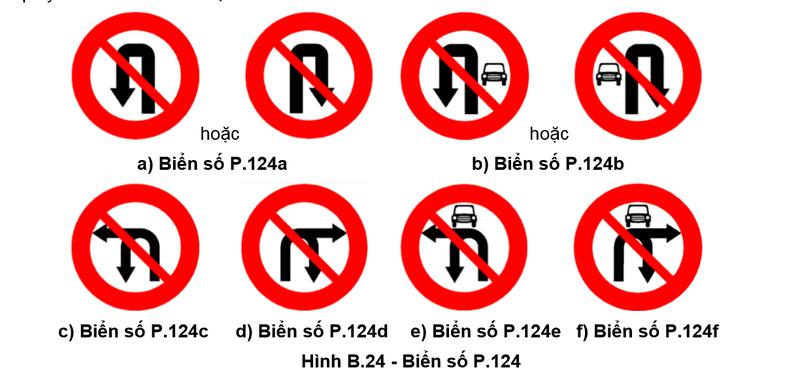 Từ 1-11: Thay đổi biển giao thông cấm rẽ, quay đầu xe - ảnh 2